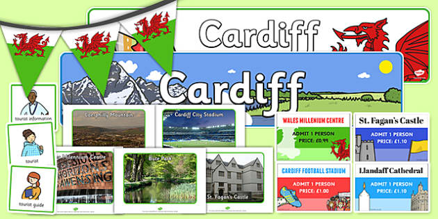 Cardiff Tourist Role Play Pack - cardiff, tourist, roleplay, pack