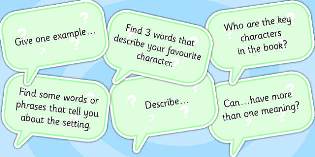 AF2 Guided Reading Question Cards - assessment focus 2, assessment focus reading, af2 reading, assessment focus cards, assessment focus questions, AF2