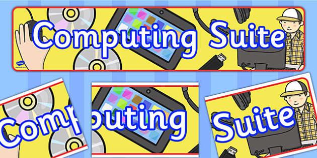 Computing Suite Banner - computing, suite, banner, display