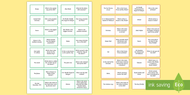 UAE National Day Loop Cards