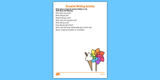 Elderly Care Summer Creative Writing Activity - Elderly, Reminiscence, Care Homes, Summer