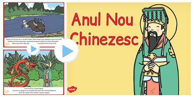 Anul Nou Chinezesc, poveste, powepoint, calendar chinezesc, Romanian