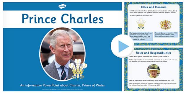Prince Charles PowerPoint - prince charles, powerpoint, information