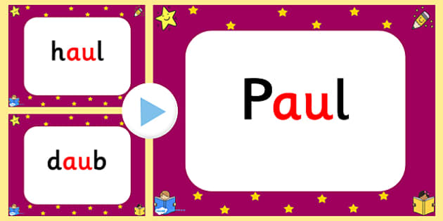 Phase 5 Quick Read PowerPoint au-phase five, phase 5, quick read, powerpoint, au, sounds, letters, phase powerpoint, phases, literacy