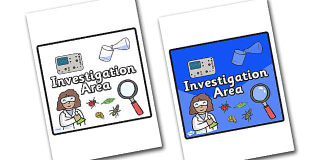 Investigation Area Sign - sign, display sign, area display sign, investigation, investigation area, investigation poster, investigation sign, area sign, area, classroom areas, school areas, classroom area signs, topic signs, topic area signs