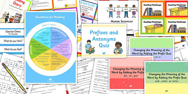 KS3 Literacy Reading Catch Up Resource Pack - literacy, reading