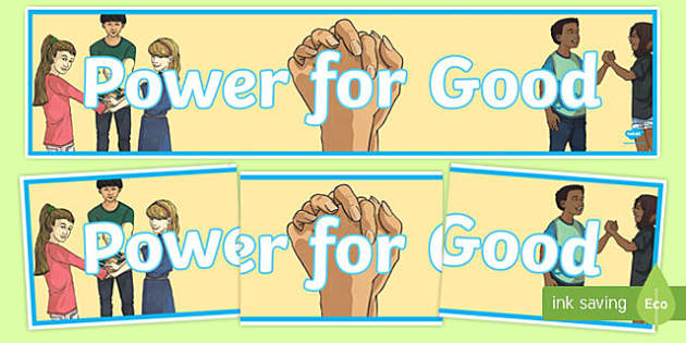 Anti-Bullying Week 'Power for Good' Display Banner