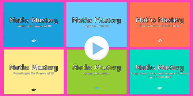 Year 5 Number and Place Value Maths Mastery Activities Resource Pack