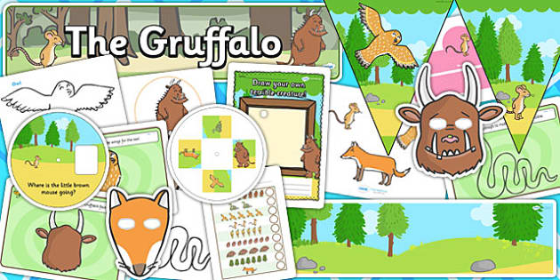 Childminder Gruffalo Resource Pack - gruffalo, child minder