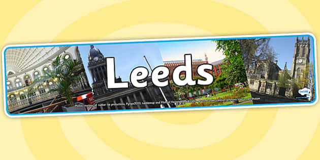 Leeds Photo Display Banner - leeds, photo banner, photo display banner, display banner, display header, header, banner, header for display, photos