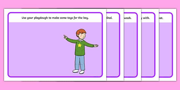 Not Right Now Playdough Mats - not now bernard, not right now, david mckee, playdough mat