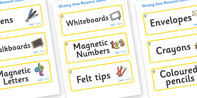 Flower Themed Editable Writing Area Resource Labels - Themed writing resource labels, literacy area labels, writing area resources, Label template, Resource Label, Name Labels, Editable Labels, Drawer Labels, KS1 Labels, Foundation Labels, Foundation
