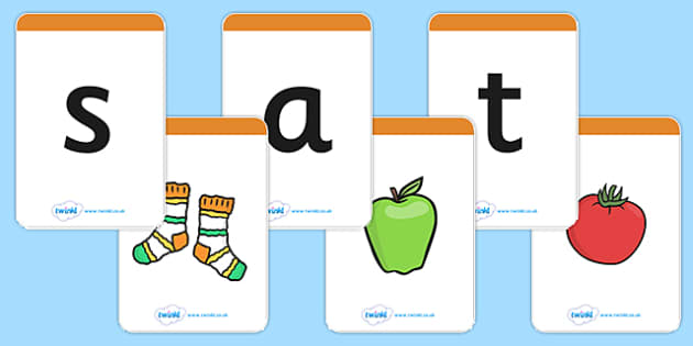 Phase 2 Mnemonic Flash Cards (A4) - Phonemes, Phase 2, Phase two, Mnemonic cards, DfES Letters and Sounds, Letters and sounds, Letter flashcards, flashcrds