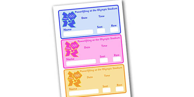 The Paralympics Powerlifting Event Tickets - Powerlifting, weights, Paralympics, sports, wheelchair, visually impaired, ticket, entry, tickets, event, 2012, London, Olympics, events, medal, compete, Olympic Games