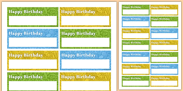 90th Birthday Party Name Tags - 90th birthday party, 90th birthday, birthday party, name tags