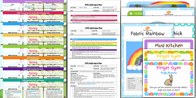 EYFS Spring Bumper Planning and Resource Pack - eyfs, spring, bumper, pack
