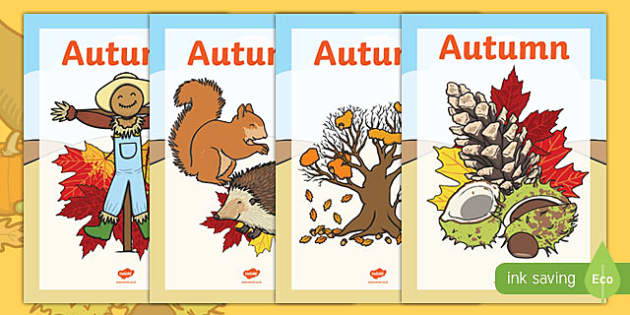 Autumn Topic Workbook Covers - autumn topic workbook covers, workbook, covers, workbook covers, autumn, topic, leaves, orange, colourful