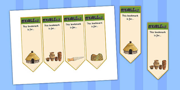 Bronze Age Bookmarks - bronze age, bookmarks, book, marks, bronze