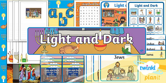 PlanIt - RE Year 2 - Light and Dark Additional Resources
