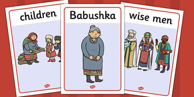 Babushka Display Posters - babushka, display posters, display