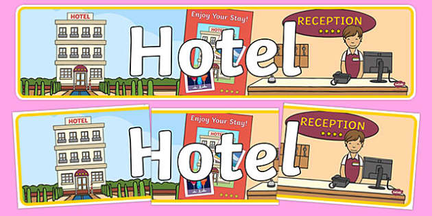Hotel Role Play Banner - hole, role play, banner, display banner, display