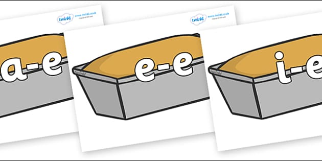 Modifying E Letters on Baked Loaves - Modifying E, letters, modify, Phase 5, Phase five, alternative spellings for phonemes, DfES letters and Sounds