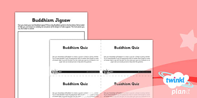 PlanIt - RE Year 4 - Buddhism Unit Home Learning Tasks - planit, year 4, religious education, re, buddhism, home learning tasks