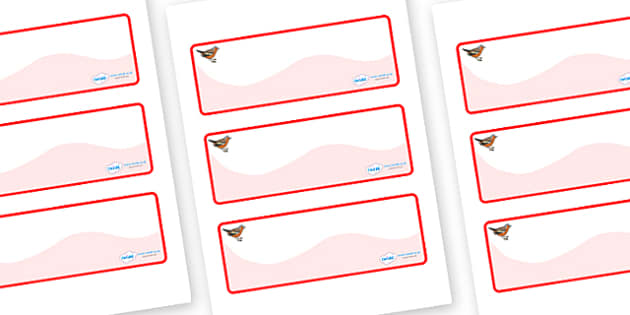 Chaffinch Themed Editable Drawer-Peg-Name Labels (Colourful) - Themed Classroom Label Templates, Resource Labels, Name Labels, Editable Labels, Drawer Labels, Coat Peg Labels, Peg Label, KS1 Labels, Foundation Labels, Foundation Stage Labels, Teachin