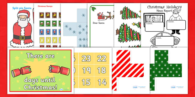 Christmas Activity Taster Pack - christmas, activity pack, pack