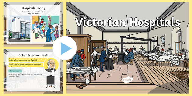 Victorian Hospitals PowerPoint - florence nightingale, florence nightingale powerpoint, victorian hospitals, victorians