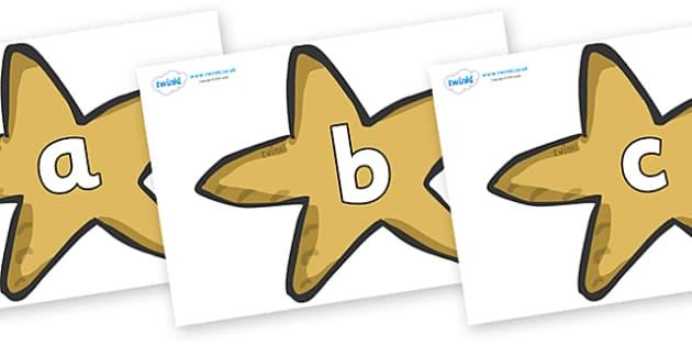 Phoneme Set on Starfish - Phoneme set, phonemes, phoneme, Letters and Sounds, DfES, display, Phase 1, Phase 2, Phase 3, Phase 5, Foundation, Literacy
