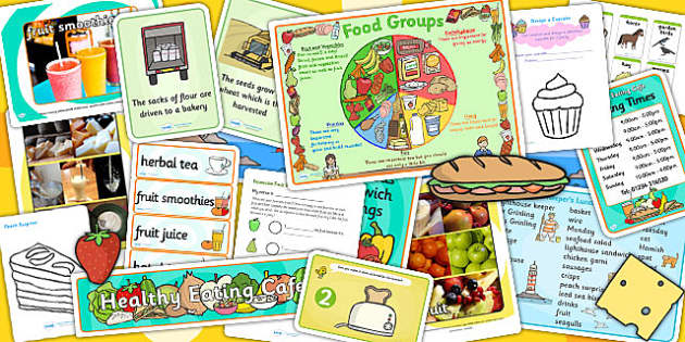 Food EYFS Lesson Plan, Enhancement Ideas and Resource Teaching Pack - food