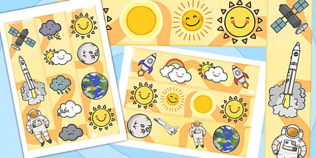 Earth and Sun Display Borders - australia, earth, display, border
