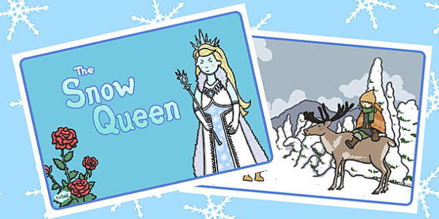The Snow Queen Story Sequencing - snow queen, sequencing, story