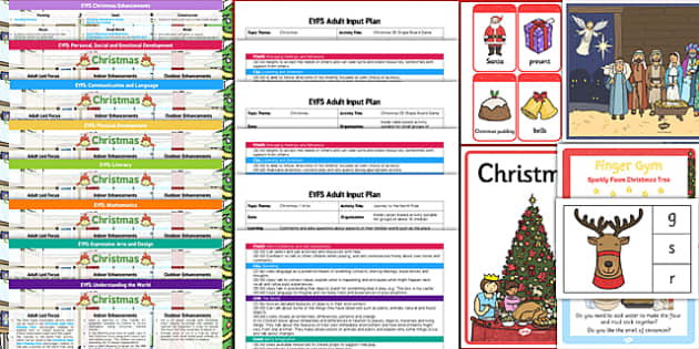 EYFS Christmas Themed Bumper Planning and Resource Pack - eyfs, christmas, bumper, planning, pack