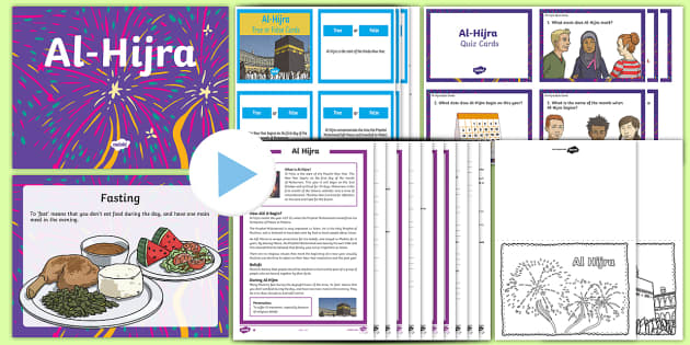 Al Hijra KS2  Activity Pack - Al-Hijra,Islam, Ks2, RE, Religious Education