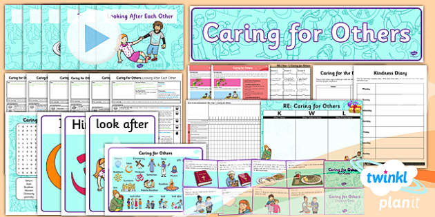 PlanIt - RE Year 1 - Caring for Others Unit Pack - planit, year 1, caring for others, unit pack