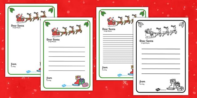 Letter to Santa Romanian Translation - romanian, letter, to santa, letter to santa, christmas, list, gifts