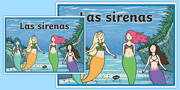 Cartel Las sirenas