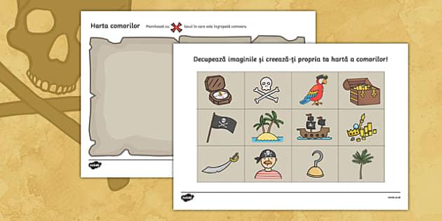 Harta comorilor, Fișă