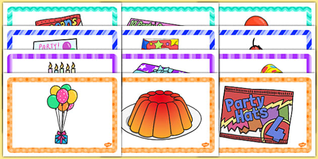 6th Birthday Party Place Mats - 6th birthday party, 6th birthday, birthday party, place mats