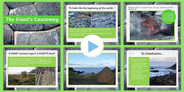 The Giant's Causeway PowerPoint