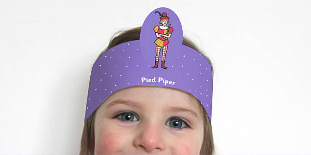 The Pied Piper Role Play Headbands - story, roleplay, stories