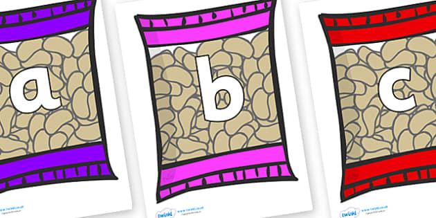 Phoneme Set on Crisps - Phoneme set, phonemes, phoneme, Letters and Sounds, DfES, display, Phase 1, Phase 2, Phase 3, Phase 5, Foundation, Literacy