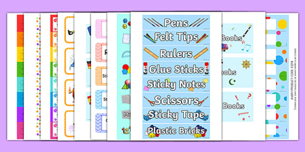 Top 10 Tray Labels Resource Pack