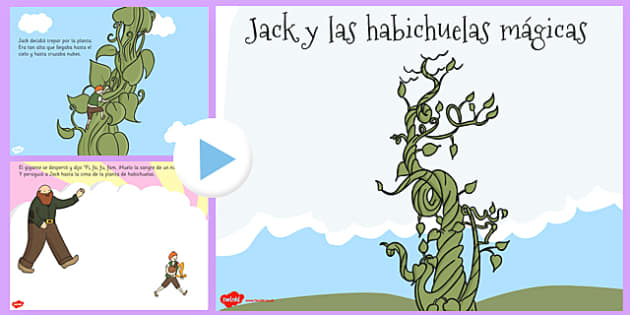 Jack y las habichuelas mágicas Story PowerPoint Spanish - spanish, jack and the beanstalk, story, powerpoint