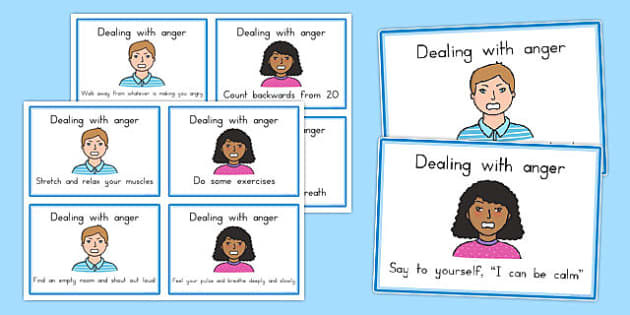 SEL How To Help Your Anger Cards - SEL, behaviour management
