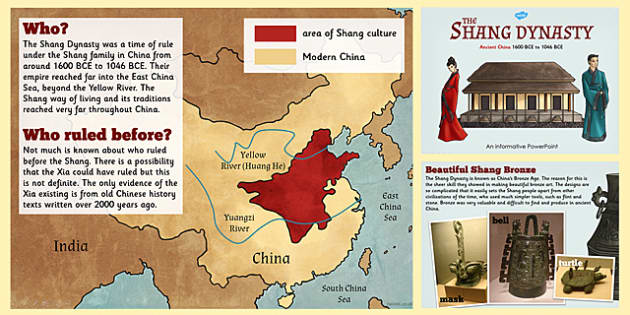 Shang Dynasty Information PowerPoint - shang dynasty, information