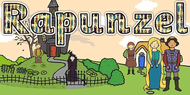 Rapunzel Title Display Lettering - rapunzel, display, title, lettering, title lettering, rapunzel lettering, rapunzel display, lettering for titles