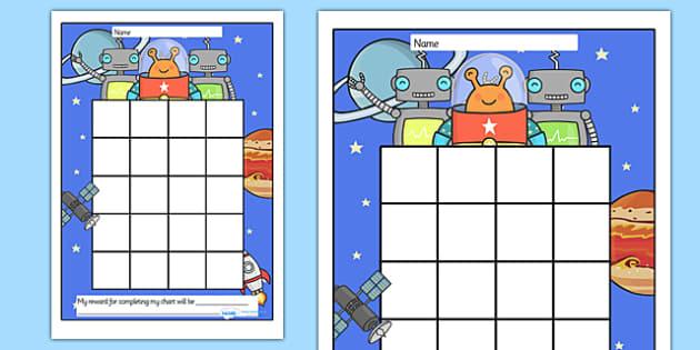 Space Sticker Stamp Reward Chart - Space Sticker Stamp Reward Chart, space, space, moon, sun, charts, chart, award, well done, reward, medal, rewards, school, general, achievement, progress, earth, mars, ship, rocket, alien, launch, stars, planet, pl